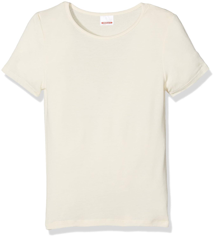 Damart T-Shirt Manches Courtes Thermolactyl Sensitive, Maglia Termica Bambina 42032