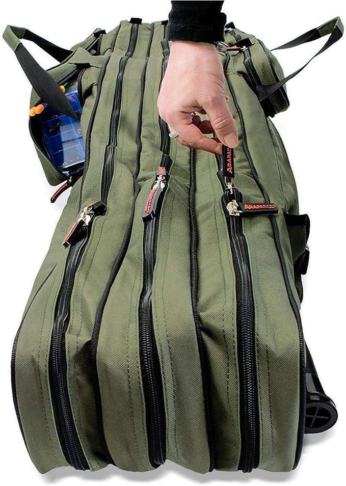 Housse pour canne /à p/êche Rod Case avec 3/compartiments diff/érentes tailles disponibles