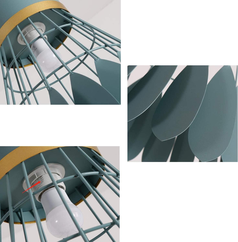 Lustre Restaurant Macaron cr/éatif Bar Table Chambre Chevet Balcon Lustre Minimaliste Moderne,Gray,20cm MMGIRLS Lustre de Badminton en Fer forg/é