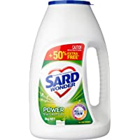 Sard Wonder Power Eucalyptus, Stain Remover Powder, In Wash Booster, Antibacterial Soaker, 3kg