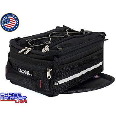 Chase Harper USA 800 Magnetic Tank Bag - Water-Resistant, Tear-Resistant, Industrial Grade Ballistic Nylon with Anti-Scratch Rubberized Polymer Bottom, Super Strong Neodymium Magnets: Automotive