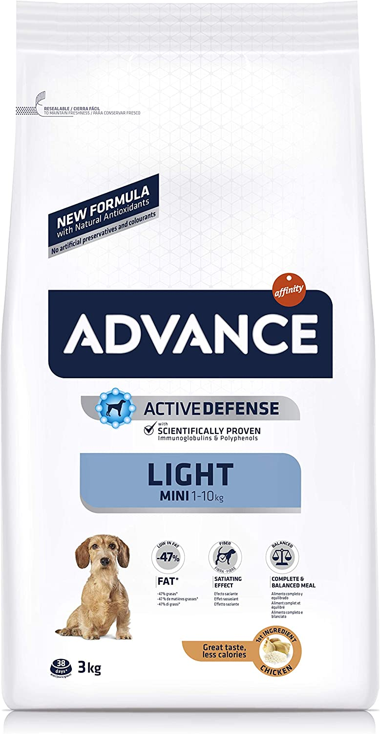 ADVANCE Light Pienso para Perros Mini - 3kg