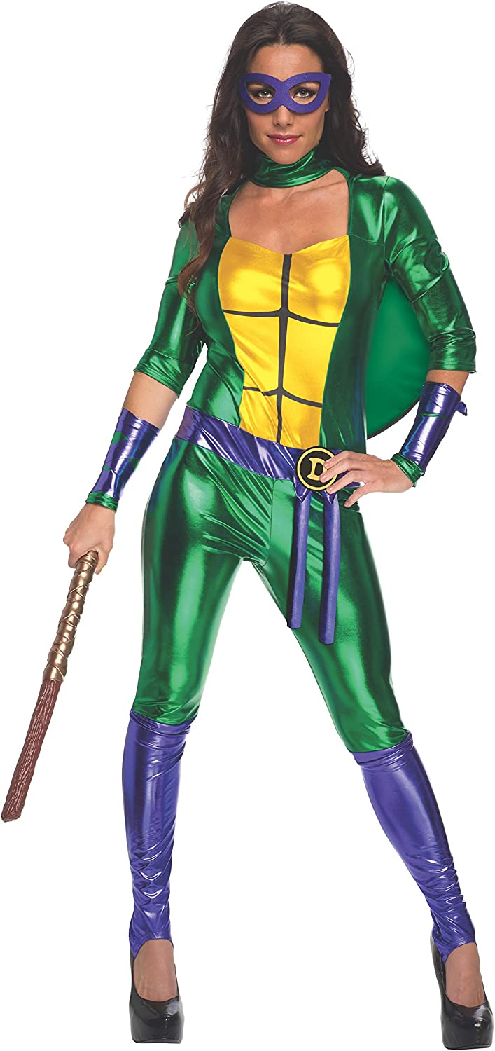 Teenage Mutant Ninja Turtles Donatello Adult Costume Jumpsuit