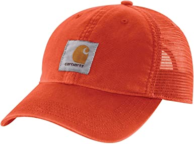 Carhartt - Gorra de búfalo para hombre - Naranja - talla única ...