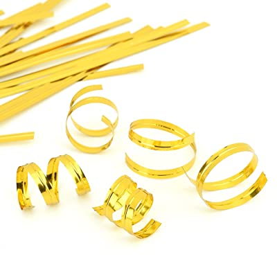 "Easytle 4"" Gold Twist Ties 100 Pcs : Garden & Outdoor"