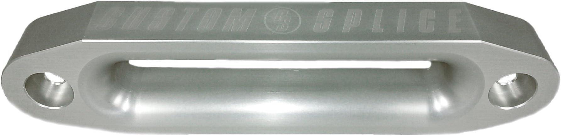 10inch Double Thick Fairlead Silver Custom Splice