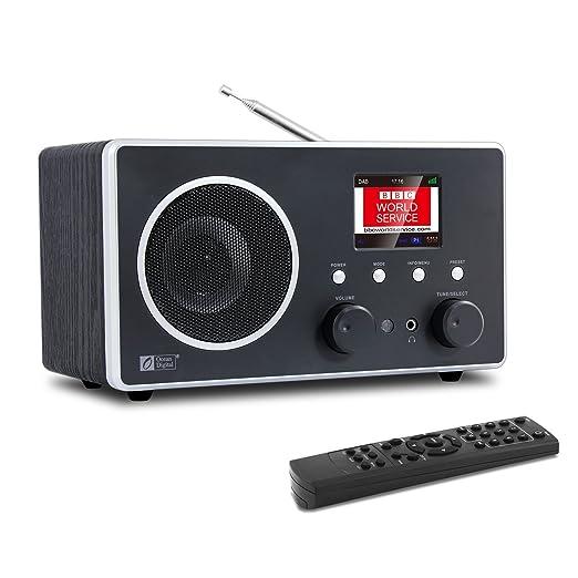 39 opinioni per Ocean Digital DB280C DAB/DAB+/FM Radio da Tavolo con Bluetooth/ Sveglia /