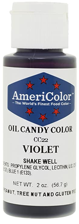 AmeriColor Candy Aceite Alimentos Color, 2-Ounce, color ...