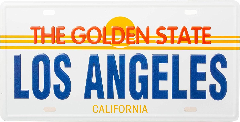 Artisan Owl Los Angeles California Vintage Retro Souvenir License Plate