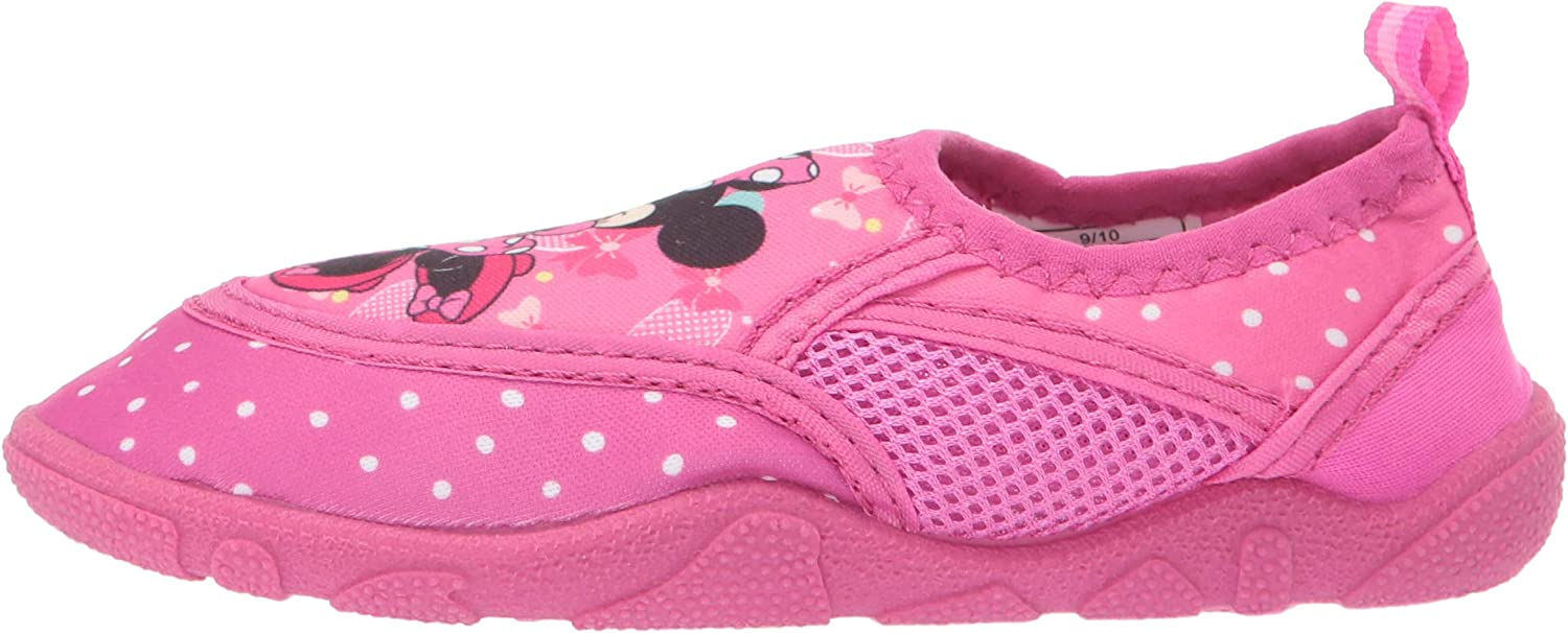 Josmo Kids Baby Girls Minnie Aqua Sock Toddler//Little Kid