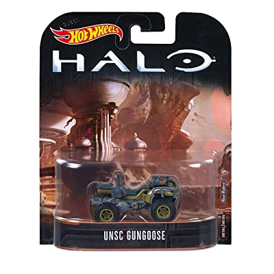 Hot Wheels Halo UNSC Gungoose Vehicle 1:64 Scale: Toys & Games [5Bkhe0406165]