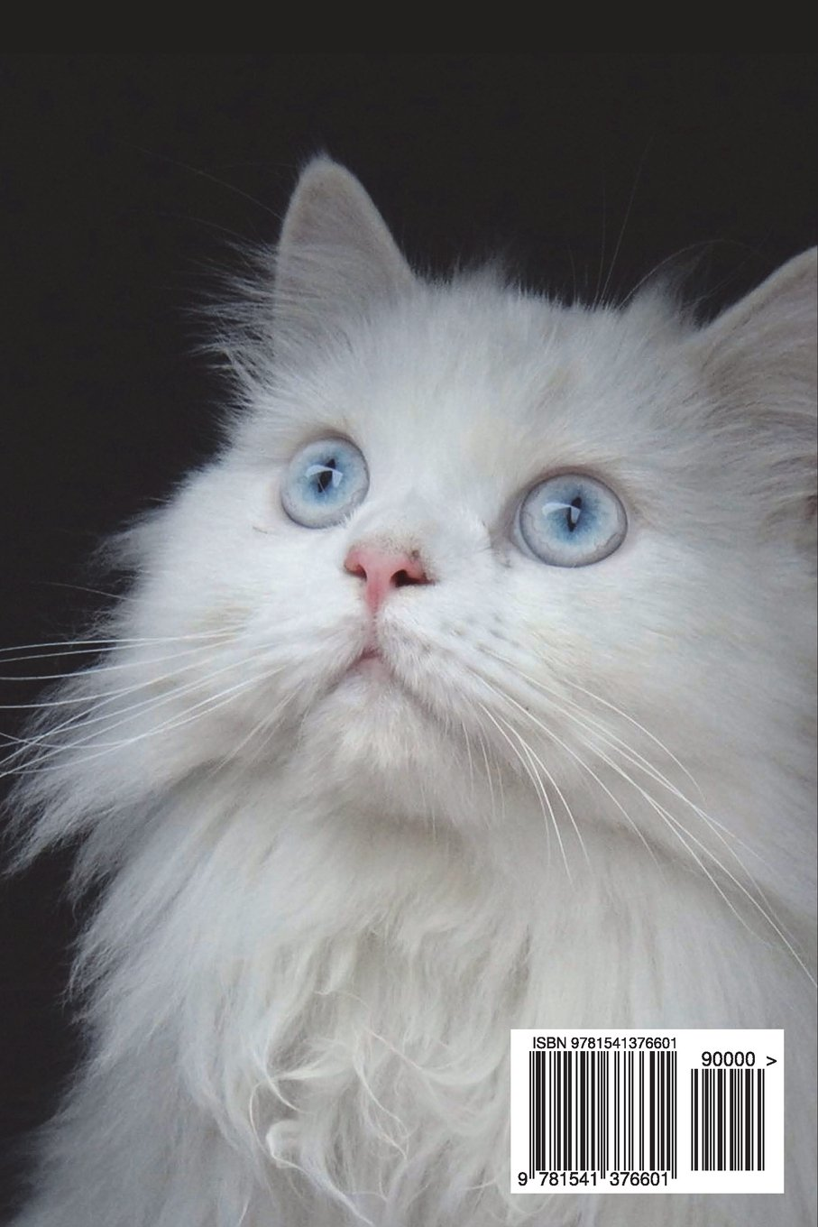 White Persian Cat Seeks Villain for Lap and Petting Journal: 150 page lined notebook/diary: Cool Image: 9781541376601: Amazon.com: Books