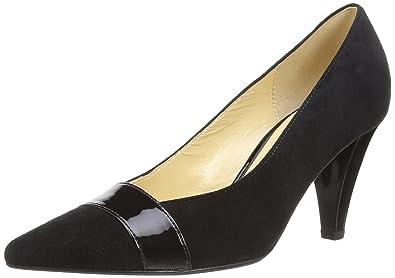 7b5e3dd43c97 Gabor Shoes 21.283.17 Damen Pumps, Schwarz (Schwarz (+Absatz))