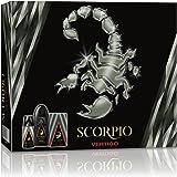 Scorpio Coffret pour Homme Vertigo Eau de Toilette, Déodorant Gel Douche