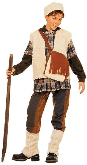 WIDMANN Juego Disfraz Pastor Boys, multicolor, 140 cm, vd ...