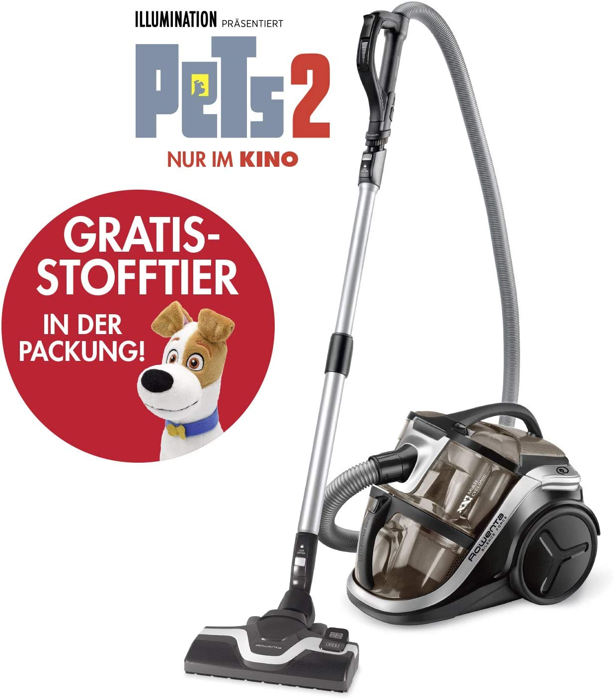 Rowenta RO8396EA Silence Force Multi-Cyclonic Animal Care ...