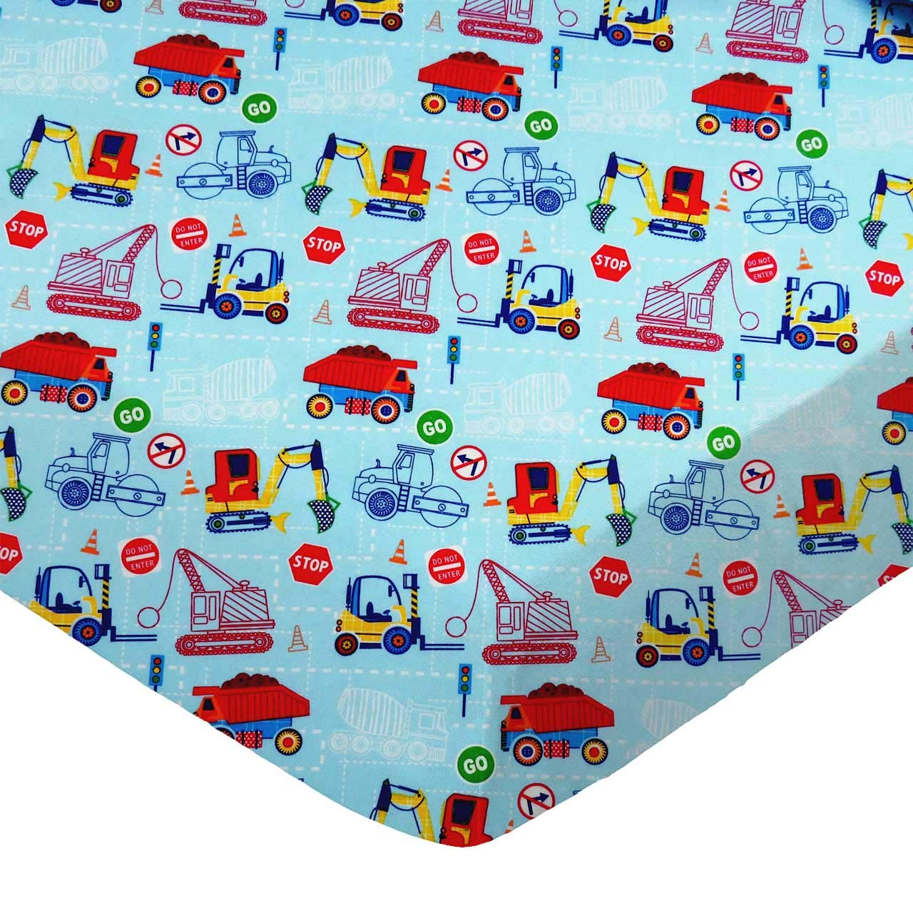 Made in USA Airplanes Yellow SheetWorld Fitted 100/% Cotton Percale Pack N Play Sheet Fits Graco Square Play Yard 36 x 36
