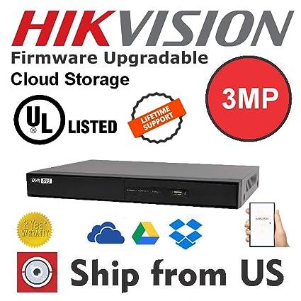 Amazon com : 4CH 1080p 3MP DVR HDMI TurboHD 3 0 HDTVI/AHD/CVBS/IP