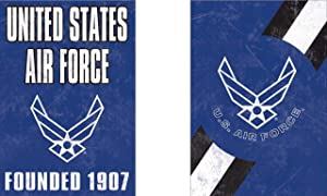 WinCraft United States Air Force Officially Licensed Vintage Distressed Edition Garden Flag, 12.5 x 18 Inches
