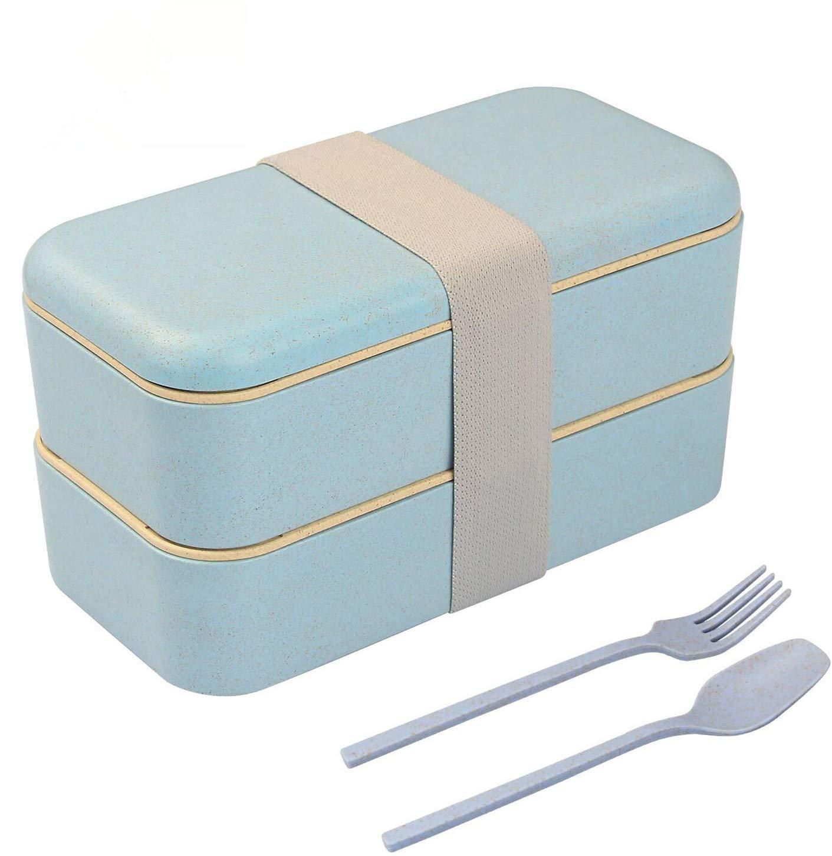 sin BPA 800 ml Fiambrera herm/ética NOBRAND 18 x 10 x 10 cm para microondas y lavavajillas