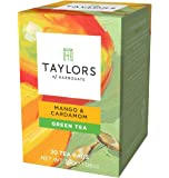 Taylors of Harrogate Mango & Cardamom Green Tea, 20 Count (Pack of 1)