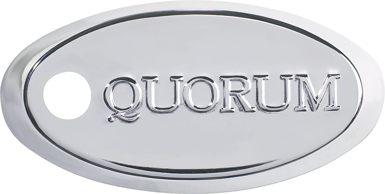 Quorum 400525-14 Prizzm – 52 Ceiling Fan, Chrome Finish