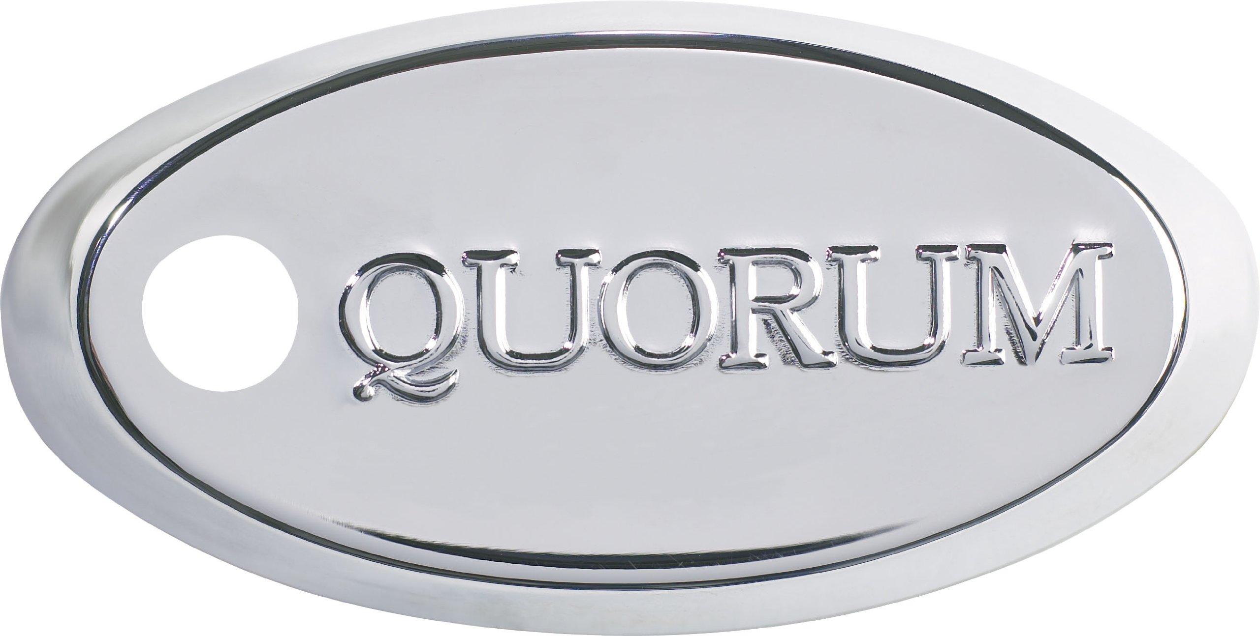 Quorum 7-1745-14, Sloped Ceiling Adapter, Chrome by Quorum