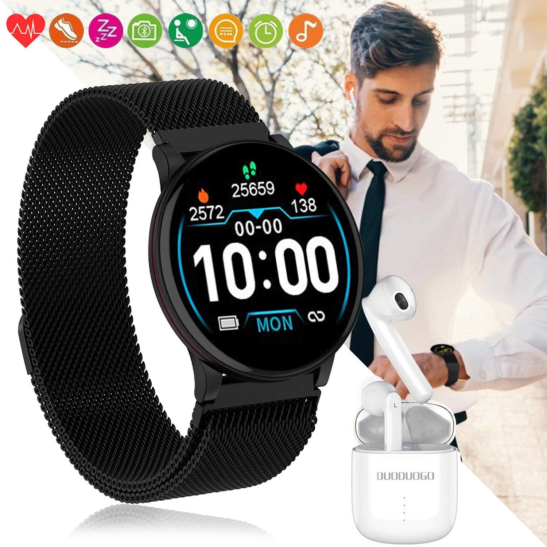 Smartwatch, Reloj Inteligente Mujer Hombre Niños Pulsera ...