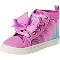 JoJo Siwa Girls' Sequins High Top Sneakers (Little Girl/Big Girl)