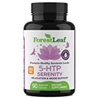 5-HTP Serenity Daily Serotonin Supplement Helps Boost and Improve Mood, Relaxation...