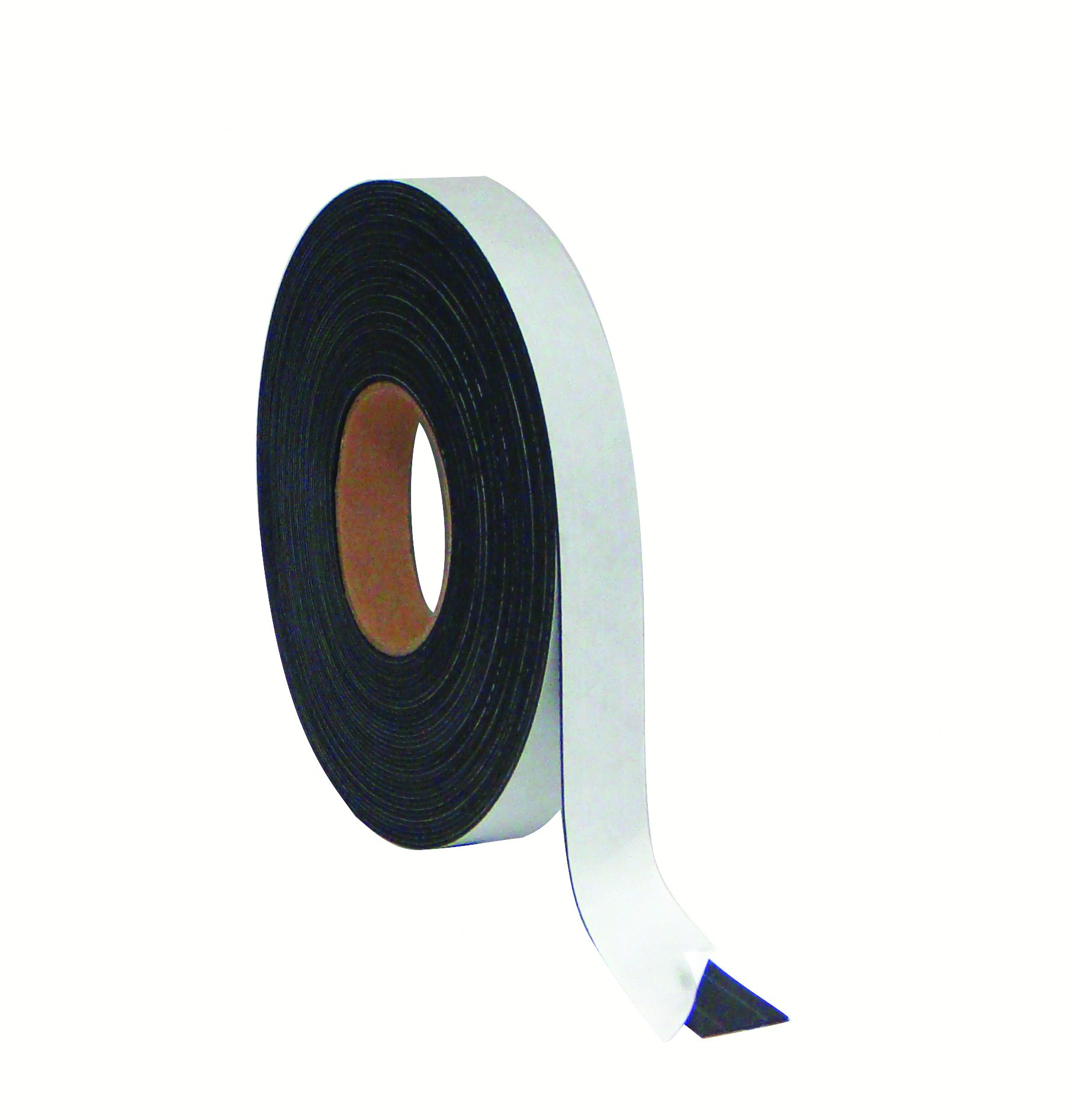 MasterVision Tape Roll Adhesive Magnetic, 1'' x 50', Black