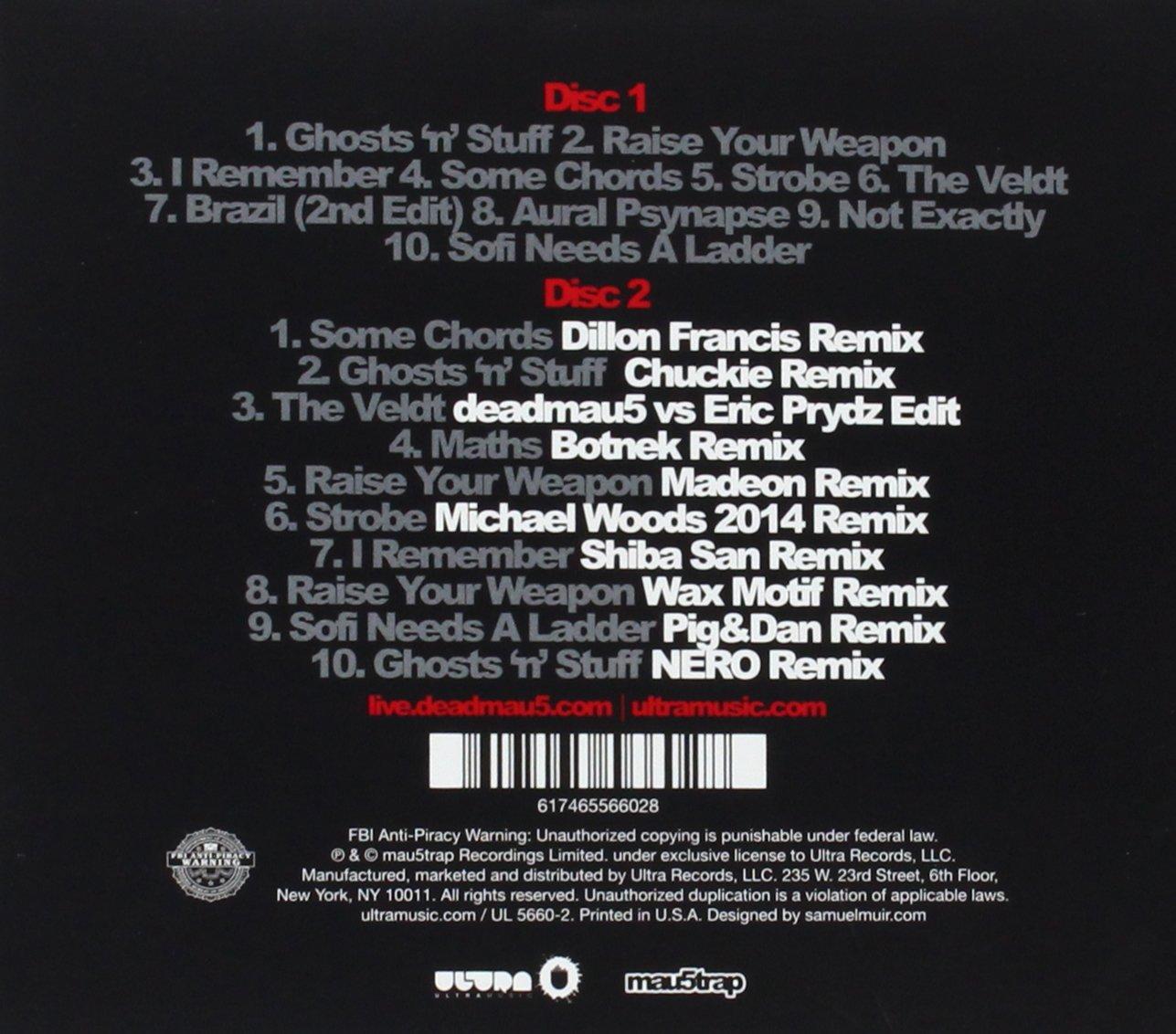 Deadmau5 5 years of mau5 amazon music hexwebz Images