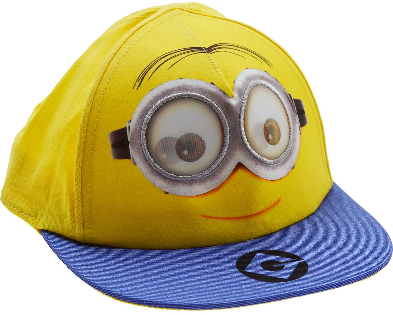 MINIONS Boys Snapback Flat Peak Baseball Cap Hat