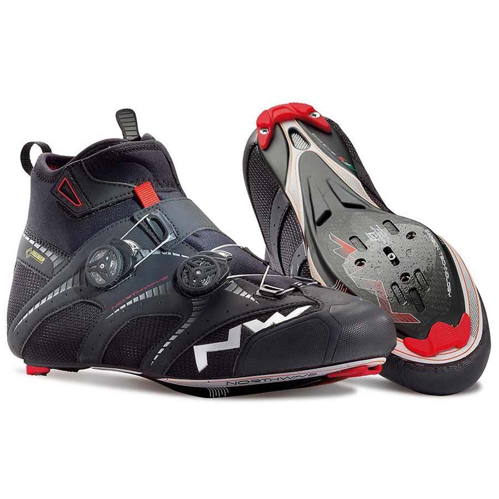 Northwave Men's Extreme Road Winter GTX Black 45.5 EU 12.5 US Cycling Shoes by Northwave