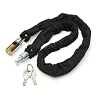 Benjoy WV01RCA07985 Bike Motorcycle Lock and Chain 80Cm W/ 2 Key for Royal Enfield Classic 350