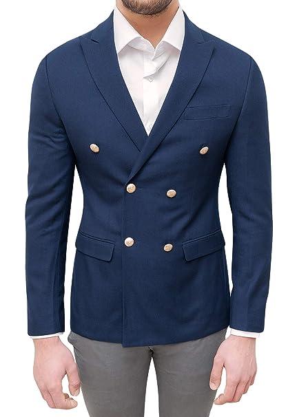 giacca doppiopetto sartoriale uomo
