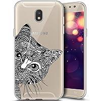 Coque en silicone JAWSEU - JW00068X-ALL Galaxy J3 2017 SM-J330 - Pour Galaxy J3 2017