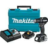"""Makita XFD11RB 18V LXT Lithium-Ion Sub-Compact Brushless Cordless 1/2"""" Driver-Drill Kit (2.0Ah)"""