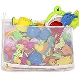 Tenrai Mesh Bath Toy Organizer, Bathtub Storage Bag, Multi-Purpose Baby Toys Net, Toddler Shower Caddy for Bathroom, Quick Dr