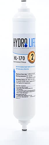 Hydro Life 52103 HL-170 QC Under Counter Filter Kit