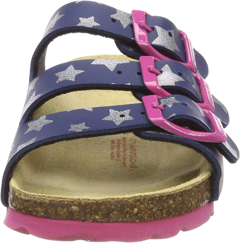 Superfit Girls/' Fussbettpantoffel Open Back Slippers