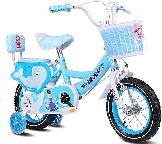 ZPWSNH Bicicletas para niños Bicicletas para niñas de 4 a 7 años ...