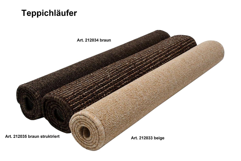Teppich läufer braun  Teppich Läufer 60 x 90 cm braun Teppichläufer Vorlege Matte ...