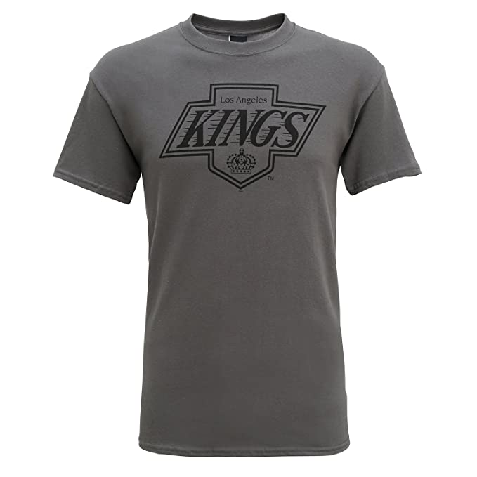 new concept f5853 3d089 Official LA Kings Los Angeles Ice Hockey Large Logo T-Shirt ...