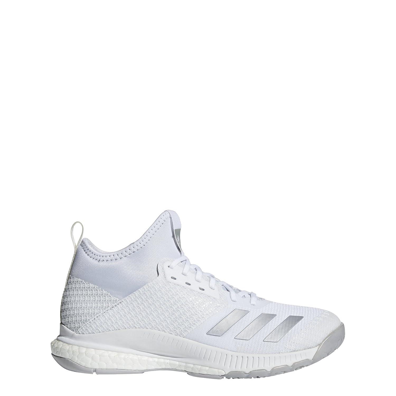 Blanc (Ftwbla Plamet Gridos 000) 47 1 3 EU adidas Crazyflumière X 2 Mid, Chaussures de Volleyball Femme