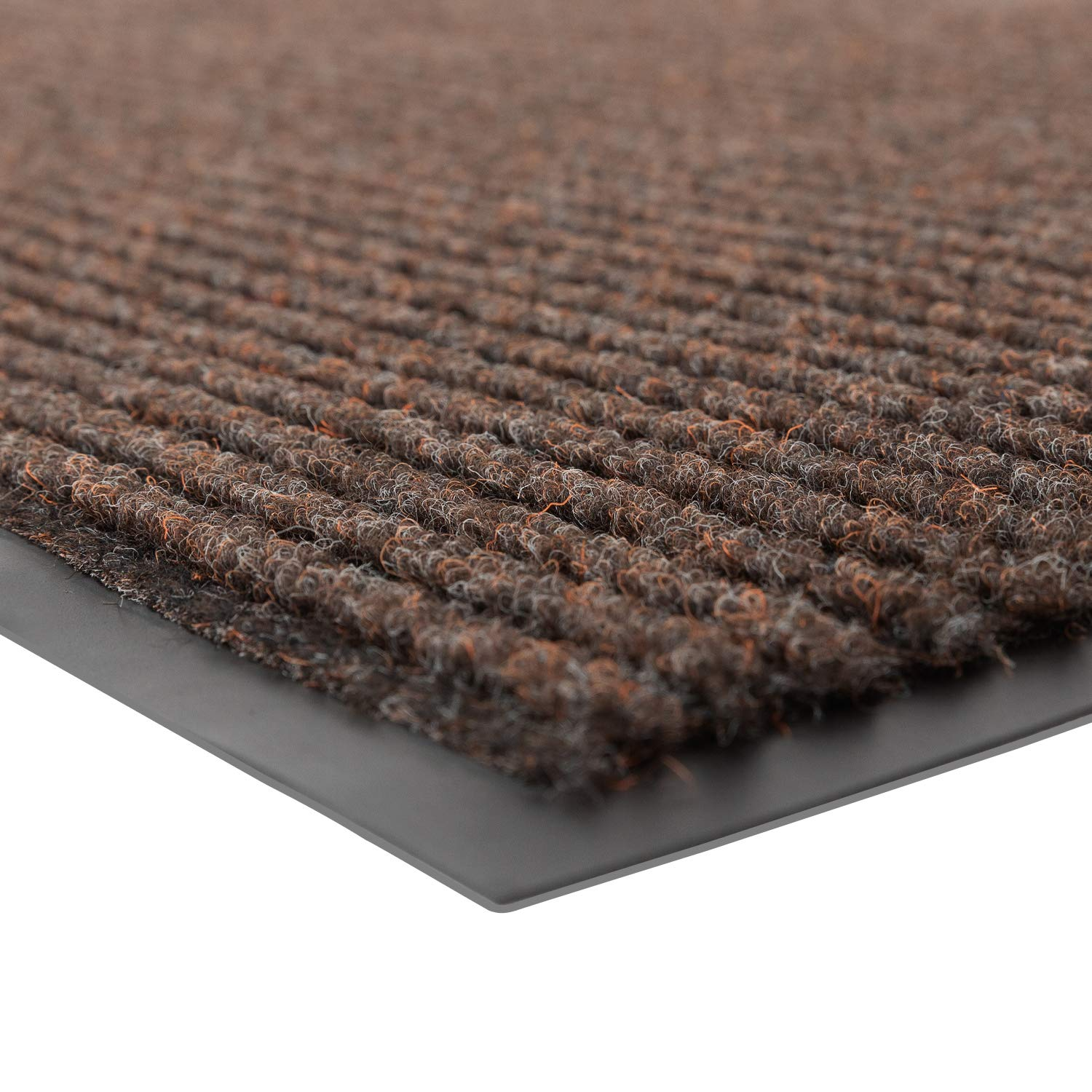 Notrax 109 Brush Step Entrance Mat, for Home or Office, 4' X 8' Brown