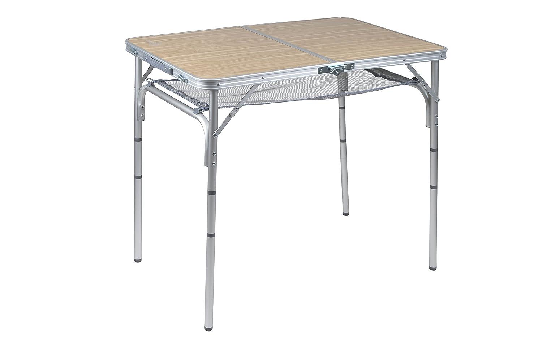 Bo-Camp Premium Rustic Mesa Gris 90 x 60 cm Gris Gris Talla:90 x ...