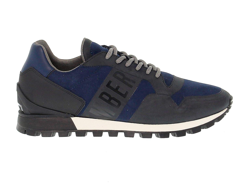 Bikkembergs scarpe da ginnastica Uomo BKE108852 Pelle Pelle Pelle Blu 0a7226