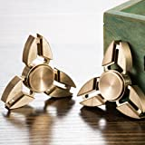 TANAINA Hybrid Ceramic Triangle Hand Spinner Toy Stress Anxiety Relief for Kids Adults
