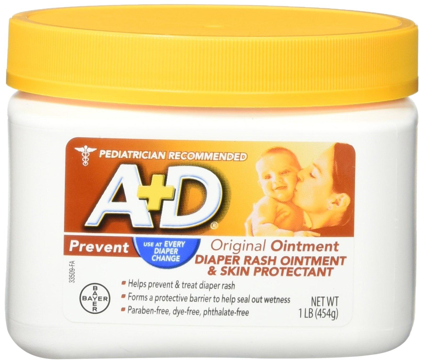 A&D Original Diaper Ointment Jar, (3 Pounds) by A&D (Image #1)
